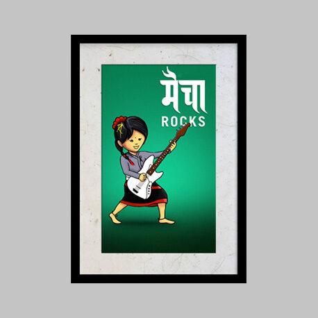 maicha rocks poster