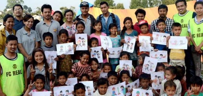 Spreading Smiles – Earthquake Relief