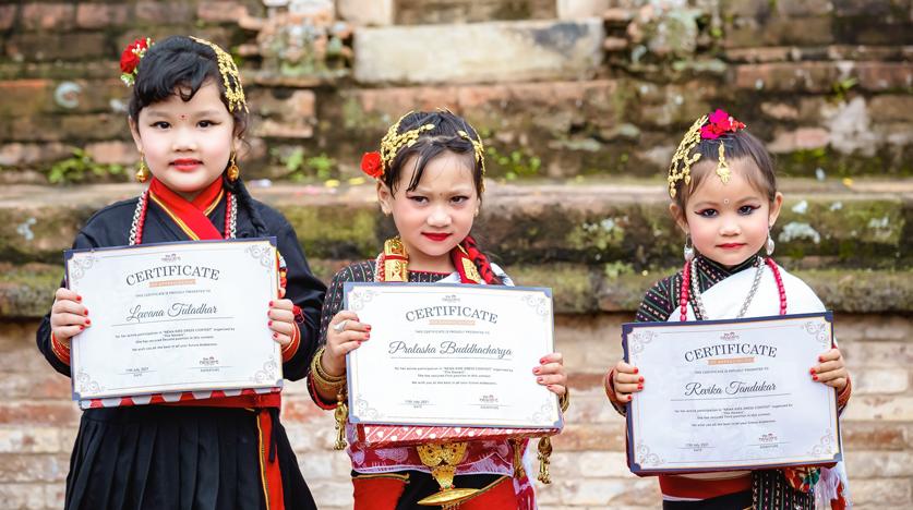 Newa kids dress contest